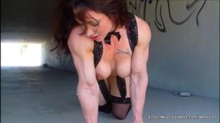 Eroticmusclevideos public masturbation brawny gutter bunny
