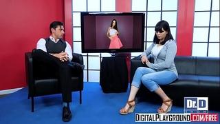 Digitalplayground - wild legal age teenager talk show starring lily adams and ryan driller