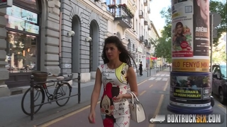 Hot laurita shows her hairless love tunnel and merry arse