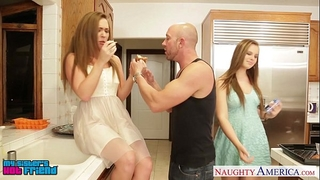 Hot angels jillian janson and maddy o` reilly sharing schlong