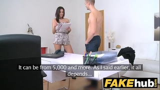 Female agent slender agent can't live without being overspread in recent warm cum