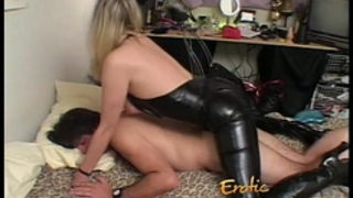 Wife acquires screwed and then returns the favour with a strap-on-6