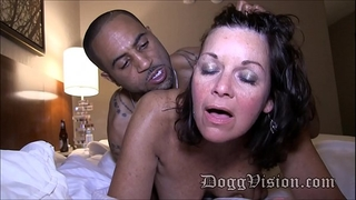 fifty year old swinger slutty wife gilf makes a porn clip