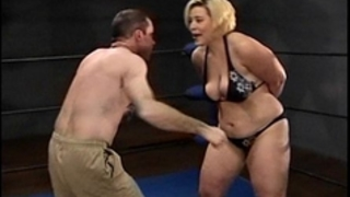 Amazon gina body slammin floozy beats up alex