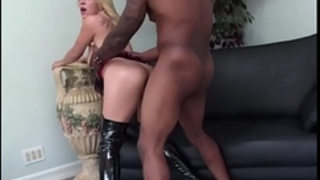 Brutalclips - blondie receives an anal torment