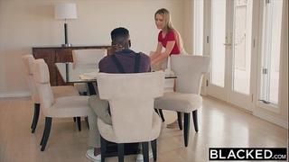 Blacked tiny rich cheating wife likes interracial bbc