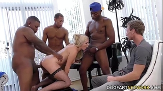Summer day enjoys anal team fuck - cuckold sessions