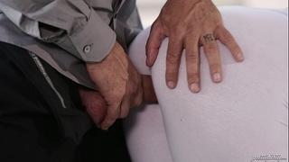 It feels so nice dad! - kenzie taylor