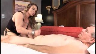 Muscle goddess brandimae teaches impure old dude lesson #2