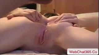 Crazy hard anal fisting non-professional fuck