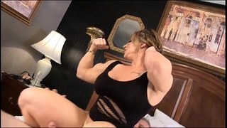 Eroticmusclevideos brandimae dominates and pegs immodest old guy