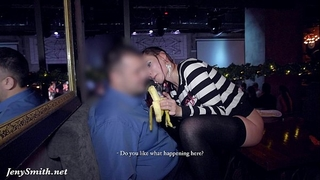 Jeny smith goes nude at sex party