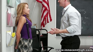 Innocenthigh smoker legal age teenager student screwed in classroom