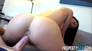 Propertysex - sexy body real estate agent copulates renter
