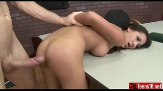 Hot latin chick amia miley torture