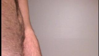 Hard penis cumming