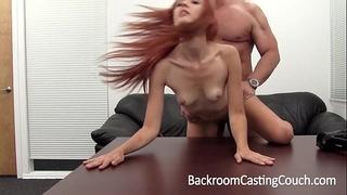 Hot redhead gazoo screwed and cummed in