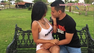 Silvia santez mexican brunnete floozy copulates a chap that babe just met @sexmexnetwork