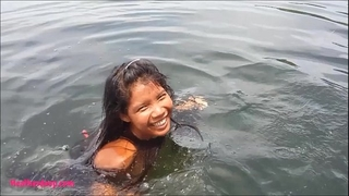 Tiny thai nubiles heather unfathomable deepthroats monster ejaculation on boat