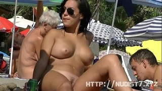 This nudist women exposed at the beach compilation is indeed arousing to see