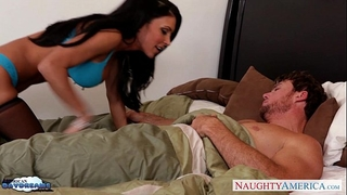 Busty brunette hair in nylons jessica jaymes acquires drilled