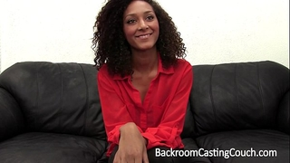 Chocolate paramours delight anal casting