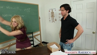 Nasty teacher sarah vandella fuck in classroom