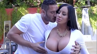 Porn outdoor with glamorous curvy wife and her juvenile neighbour