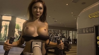 Workout with oriental