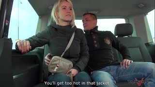 Cheating breasty Married slut bonks a stranger in traffic & mea melone record it
