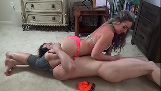 Your jock gave u away! savannah fox vs. jason