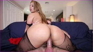 Bangbros - latin babe named gia shows off her fantastic large butt & large mangos