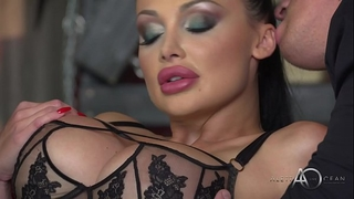 Aletta ocean - dark leather double enjoyment - alettaoceanlive