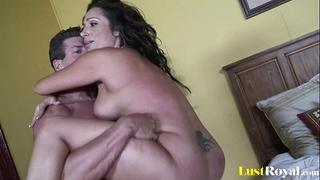 Chubby babe with jumping tatas vannah sterling