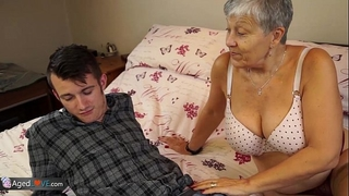 Old white wife savana drilled by student sam bourne