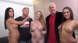 Epic fuckfest with jasmin jae, mea melone and harmony reign
