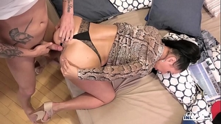 Kinky inlaws - forbidden anal sex with russian milf eva ann and juvenile stepson