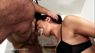 Valentina bianco - dirty doxy at work (uncensored milk vomit)