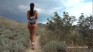 The nude hike