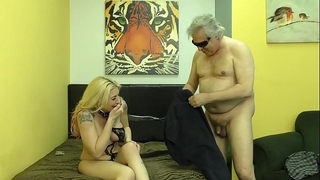 Hooker makes diminutive dick customer take up with the tongue her butthole - leya falcon