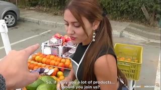 Carne del mercado - breasty colombian dilettante melissa lujan receives group-fucked hard