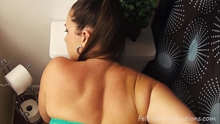 Taboo passions: hawt stepdaughter with large butt learns to fuck pov