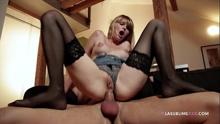 Lasublimexxx blond wiska takes boyfriend's hard rod in her gazoo